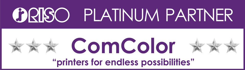 ComColor Platinum Partner Stickers