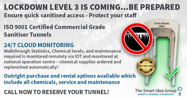 Smart Idea Sanitiser tunnel-1